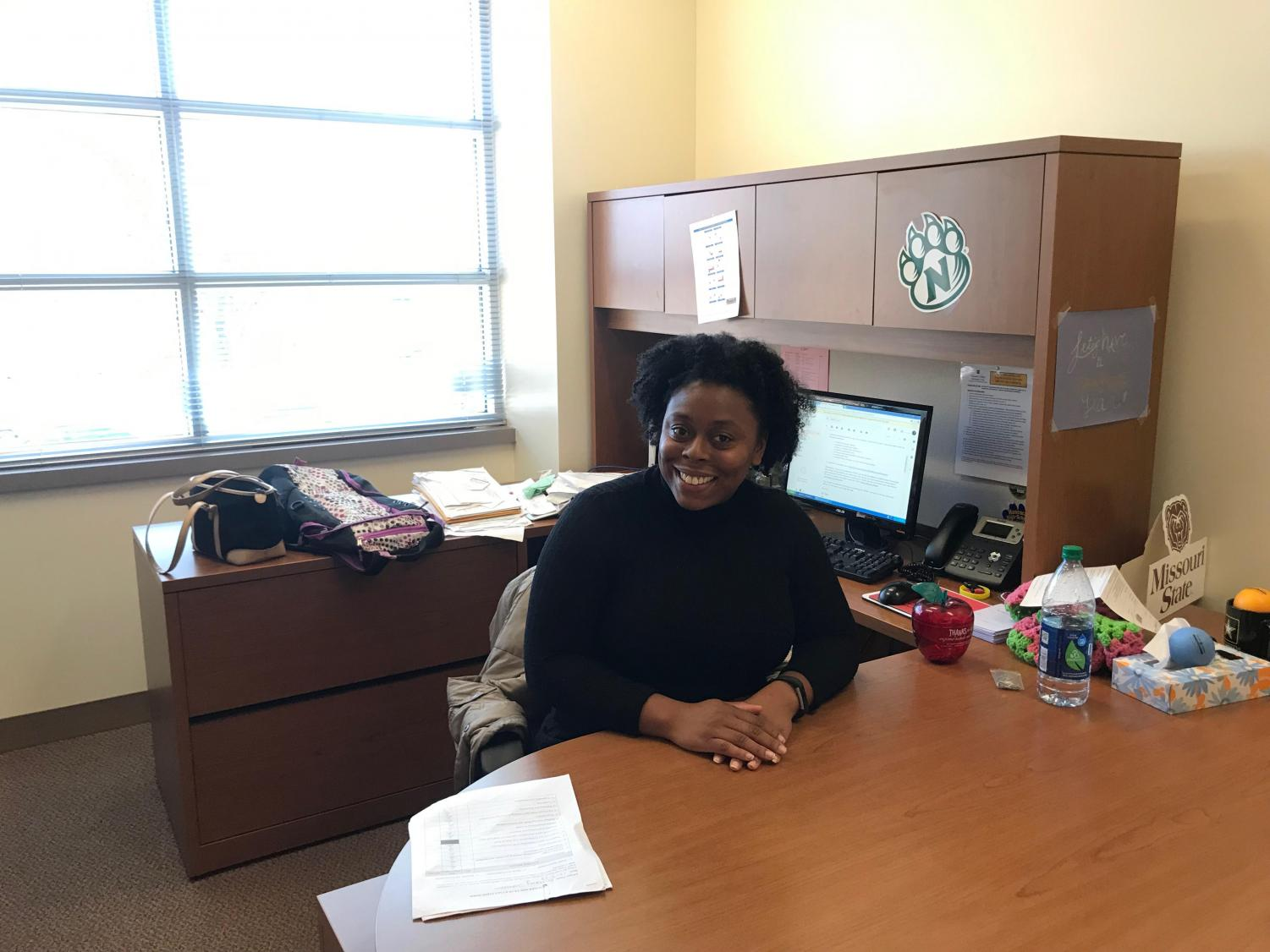 Miss. Khadija Carole Ann Tejan began working at HHS on Wednesdays in early November.