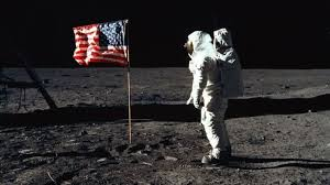 Neil Armstrong step foot on the moon.