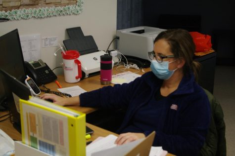 HHS Nurse Molly Leech is an important person in the Contact Tracing protocol.